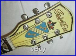 1952-56 Silvertone 1354/Kay Aristocrat Blonde Archtop Guitar