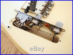1961 Fender Telecaster Left Handed Pre-CBS Vintage Electric Guitar Blonde Ash