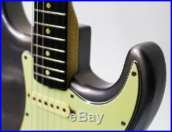 1962 Fender Stratocaster Guitar Lake Placid Blue Refin with OHSC Vintage