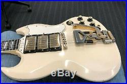 1962 Gibson Les Paul Custom SG Players grade, sounds killer, thin, light weight