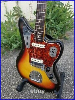1963 Fender Jaguar Electric Guitar A Width Neck