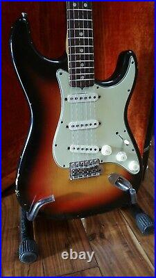 1965 Fender Stratocaster Electric Guitar with OHSC