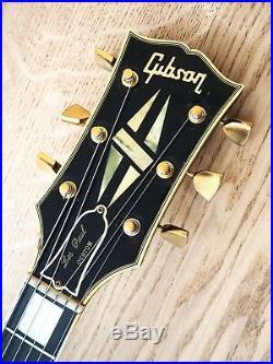 1970 Gibson Les Paul Custom Black Beauty Vintage Electric Guitar Big Neck withohc
