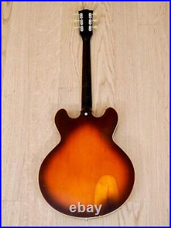 1971 Gibson ES-335TD Vintage Semi-Hollowbody Electric Guitar with Coil Tap & Case