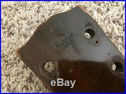 1973 Gibson SG Standard Husk Body Neck Project Walnut
