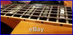 1976 Gibson Les Paul Standard Natural Top Three Pickup Original Factory