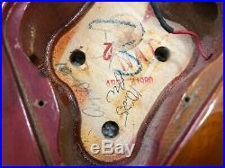 1980 Gibson Les Paul Deluxe Husk Cherry Sunburst Clownburst Body Neck Project