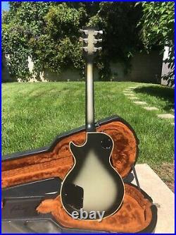 1982 Gibson Les Paul Custom Silverburst Adam Jones, Tool