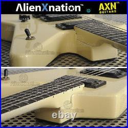 1984 ESP Custom Star Guitar White marked #05684