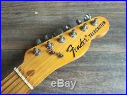1985 Fender Japan'72 Reissue E Series Telecaster (Natural Ash)