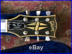 1985 Gibson Les Paul Custom Silverburst