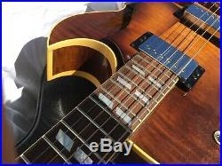 1988 Heritage Guitar H575-Asb Hollow Body Sunburst Maple Kalamazoo USA
