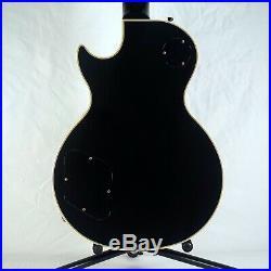 1990 Gibson Les Paul Custom Black Beauty Ebony Gold Hardware with Original Case