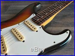 1991 Squier (by Fender) Japan Silver Series Stratocaster MIJ (Sunburst)
