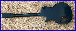 1996 Gibson Les Paul Studio Gem Series Husk Sapphire Body Neck Project Repaired
