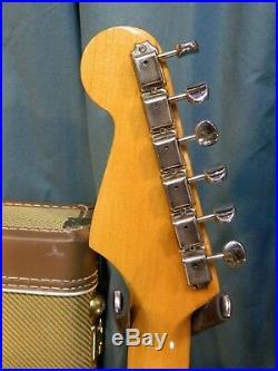 2000 Fender Stratocaster 1957 Reissue, AVRI'57RI, Ships Worldwide! Aztec Gold