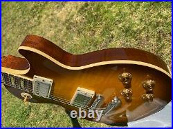 2001 Gibson Les Paul Classic Plus 1960 60 Honeyburst with Custom Shop Case