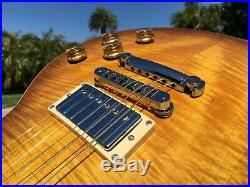 2001 Gibson Les Paul Standard Plus Honeyburst Flametop Burst-a-Licious