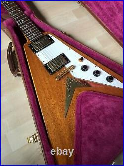 2002 Epiphone Flying V Korina 58 Reissue Includes Case Cheap Shipping