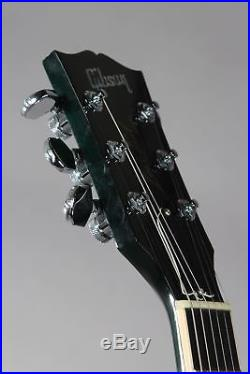 2004 Gibson Custom Shop Les Paul Elegant Peacock Green Quilt Top