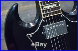 2005 Gibson SG Standard 490R/498T Pickup Ebony Electric Guitar withCase #032050532