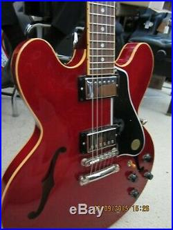 2007 Gibson ES-335 Memphis red