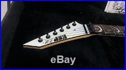 2009 ESP Kirk Hammett KH-2 Ouija White GUITAR #17 of 50 worldwide Metallica RARE