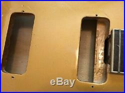 2011 Epiphone Casino MG Gold Top Husk Hollow Body Neck Project