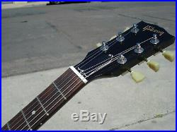 2011 Gibson SG JR LEFTY left- handed 60's P- 90's Black Electric Guitar