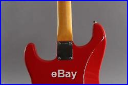 2012 Fender Artist Series Mark Knopfler Stratocaster Hot Rod Red Josefina Campo