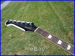 2013 Gibson Firebird V Alpine Classic White Steinberger Tuners 7.7 lbs