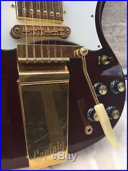 2013 Gibson SG Custom Captain Kirk Douglas Signature Cherry guitar