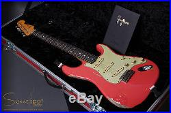 2016 Fender Gary Moore Tribute Stratocaster Masterbuilt by John Cruz Fiesta Red