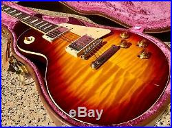 2018 Gibson Custom Historic'59 Les Paul Standard 1959 R9 VOS