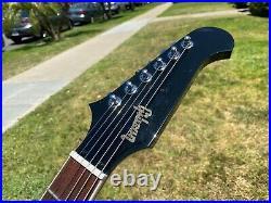 2018 Gibson Firebird V Gloss Black Left Handed Lefty 60's Slim Neck 8.1 lbs