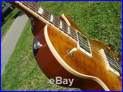 2018 Gibson Les Paul Standard Plus Mojave Fade Burst Flametop 1960s Neck PB