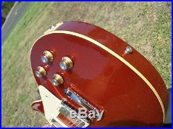 2019 Gibson Les Paul Standard Custom Shop Rocket Red Sparkle with COA