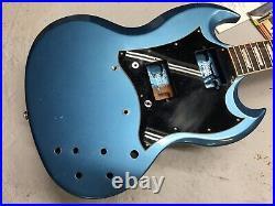 2019 Gibson SG Standard Exclusive Electric Guitar Husk Pelham Blue