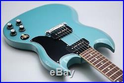 2019 Gibson USA SG Special Faded Pelham Blue & Gibson Hard Case