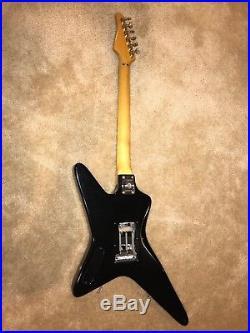 82 Kramer Voyager Guitar Rare Factory Custom Ordered Finish, Floyd Rose & Case