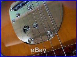 BLEM 6 STRING JAGUAR STYLE SOLID ASH ELECTRIC GUITAR SUNBURST With TREMOLO