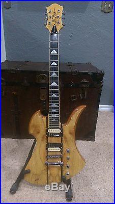 B. C. Rich Mockingbird Exotic Classic Electric Guitar
