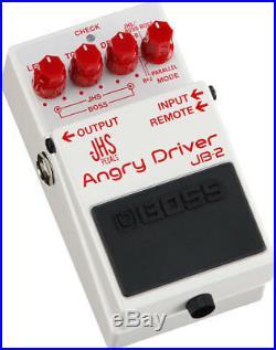 Boss JB-2 Angry Driver Guitar Pedal! JB2