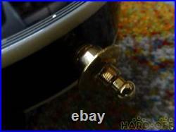Burny SRLC55 Les Paul Type Electric Guitar BLACK withsoft case japan Excellent