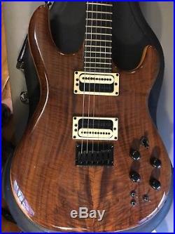 Carvin DC127 USA Guitar WithCASE Figured Claro Walnut Really nice