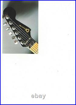 Charvel 5 & 6 Digit Guitar and Bass. Extremely Rare