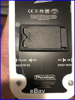 Dunlop MXR MC404 CAE Dual Inductor Wah Pedal Bob Bradshaw