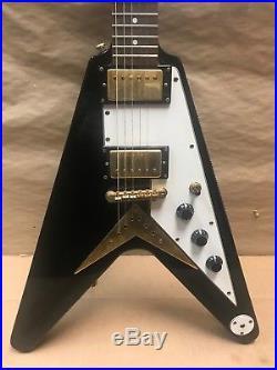epiphone korina flying v made in korea electric guitar used electric guitars. Black Bedroom Furniture Sets. Home Design Ideas