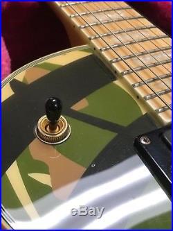 Epiphone Zakk Wylde Camo Les Paul Custom Camouflage Guitar EMG-HZ PPS 2586-2