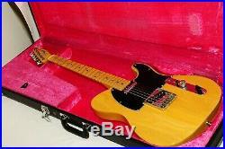 Excellent Fender Japan TL72 Telecaster Natural Electric Guitar Ref No 2720